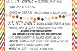 Thumbnail for the post titled: Check out the events for the Apple Festival
