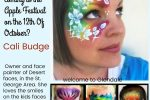 Thumbnail for the post titled: Cali Budge a pro face painter